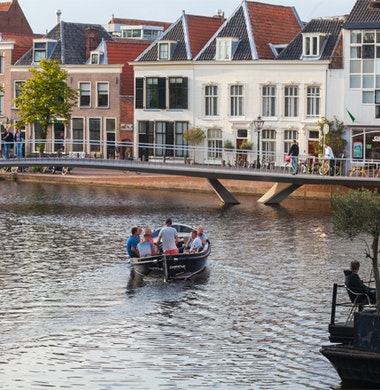 Projectbezoek Catharinabrug Leiden