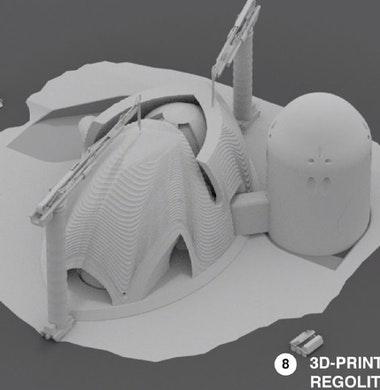 3D-printen van beton: tussen realiteit en droom in