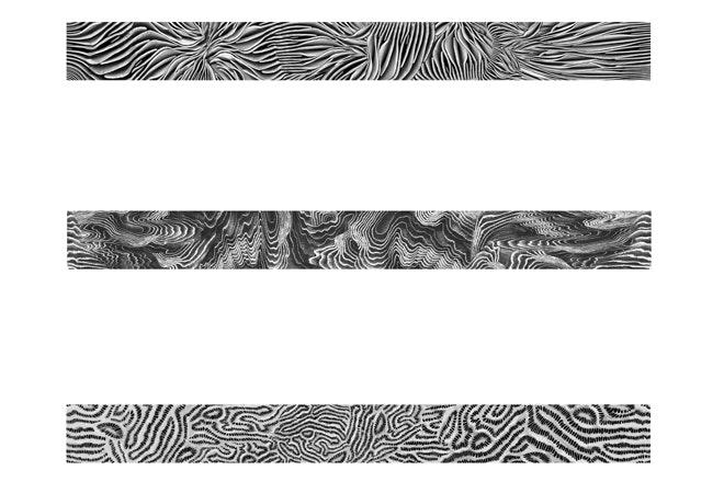 Drie unieke patronen beeld Iris van Herpen
