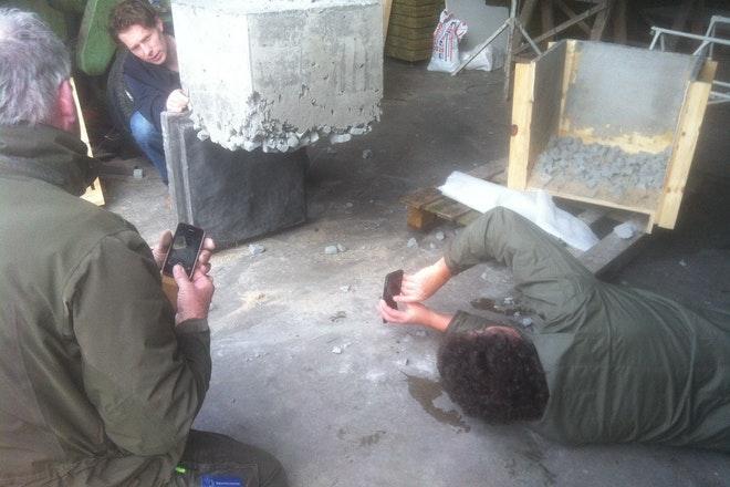 Zierikzee making Testen Geplaatst element Foto Niels Tilanus