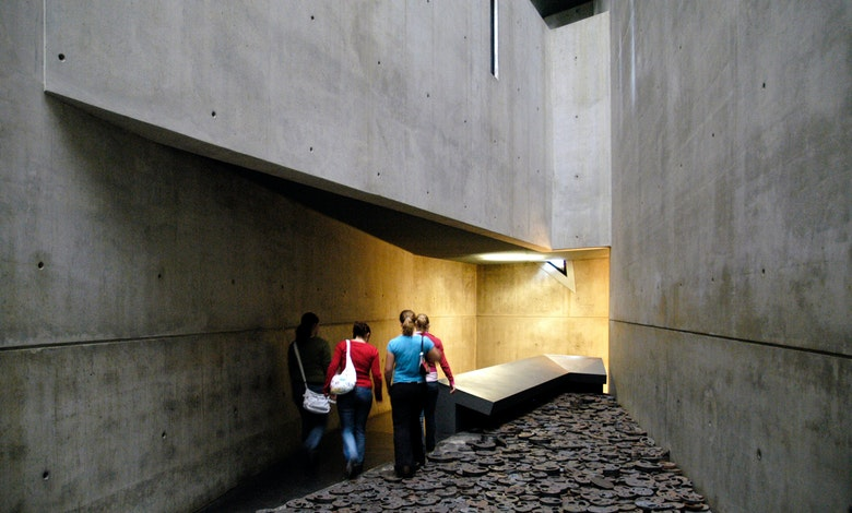 Joods museum 3 D sculptuur