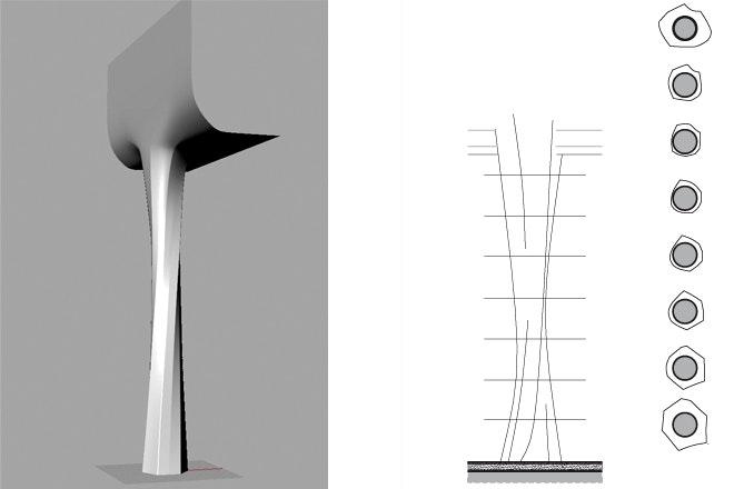 Vloeiende kolommen2