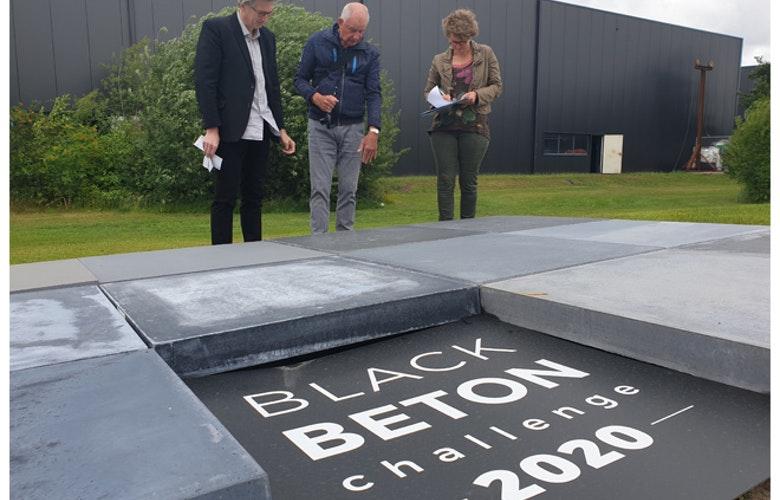 Zwart beton jury 1