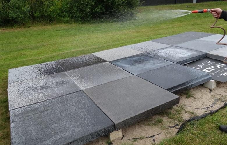 Zwart beton jury 3