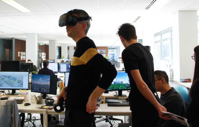 Barcode Architects Office VR