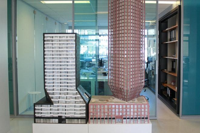 Barcode Architects maquette Muse Casanova