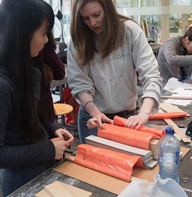 Tektoniek hands-on betonworkshops
