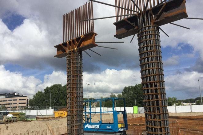 Amsteltoren afb6 stalen hamerstukken Foto I Md V