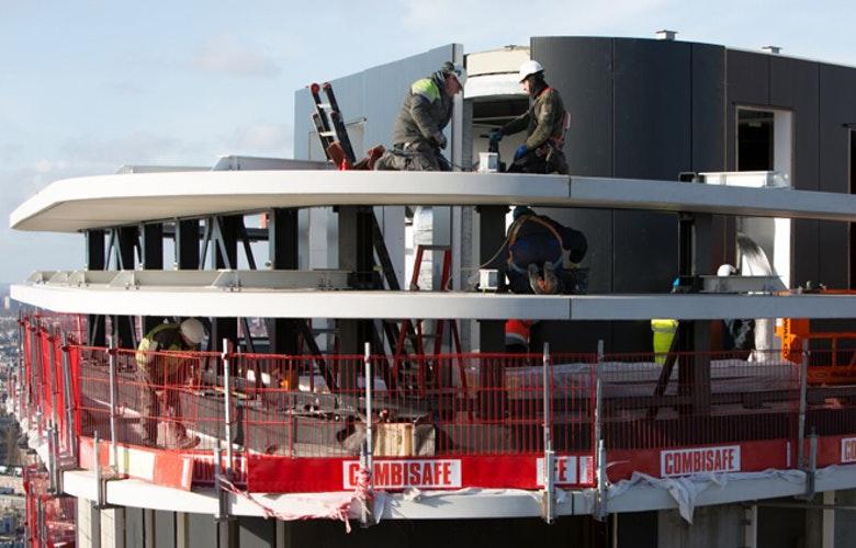 Amsteltoren bouw bovenste laag foto Mariska Stieber lr