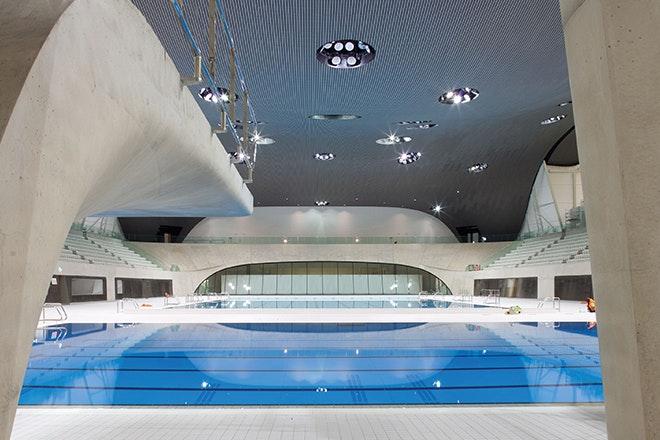 Aquatics centre londen 02