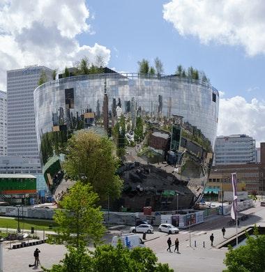 Stabiel binnenklimaat met beton voor kunstdepot Boijmans van Beuningen