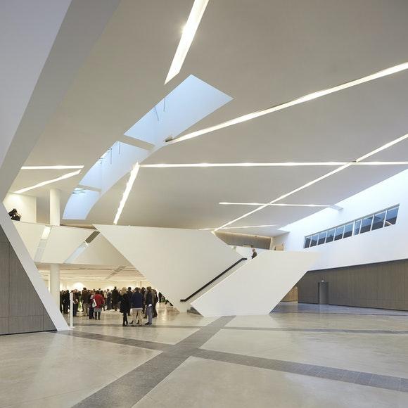 Studio Daniel Libeskind Centre de Congres Hufton Crow 025