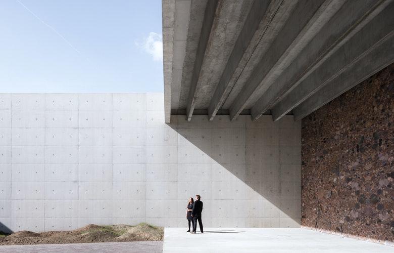 Foto 7 3 Crematorium Siesegem KAAN Architecten Sebastian van Damme