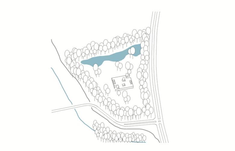 Locatie 3 Crematorium Siesegem bron KAAN Architecten