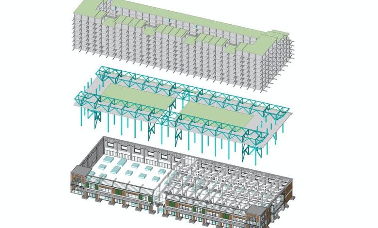Fenix I 3 D constructie schema ABT