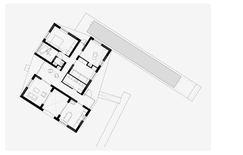 Plattegrond Huis Raboes