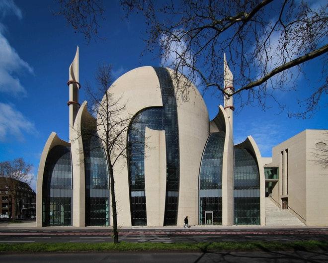 Centrale moskee in Keulen