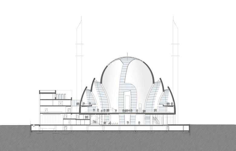 Doorsnede moskee