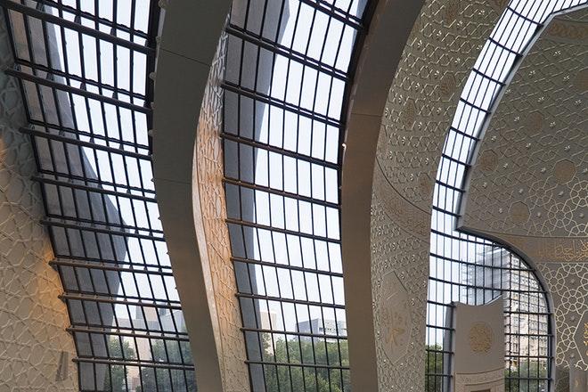 Betonnen schalen met grote glasvlakken Foto Christopher Schroer Heiermann