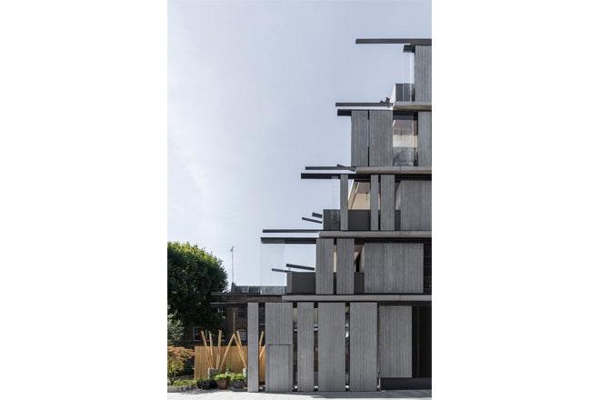 Nobu Hotel facade side profile foto Nicholas Worley iov Ben Adams Architects
