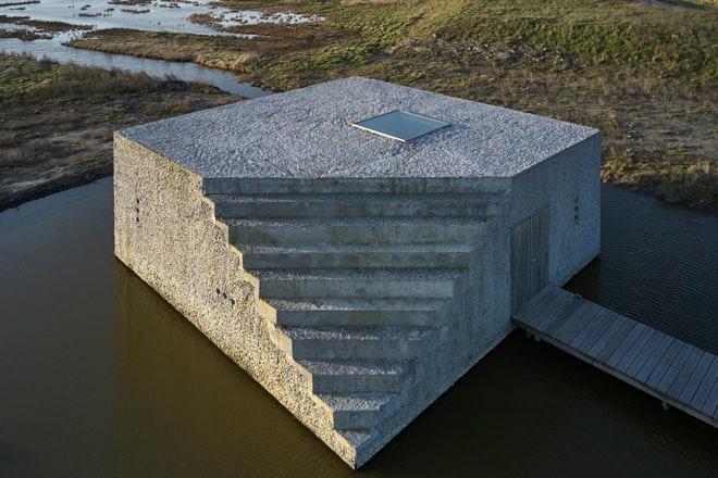 Zierikzee Trap buitenzijde Drone Mathijs Labadie