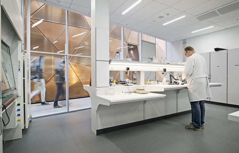 The Technical Faculty SDU SDUFOT78 CF Moller Architects photo Joergen True