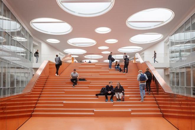 The Technical Faculty SDUFO150 CF Moller Architects photo Adam Moerk