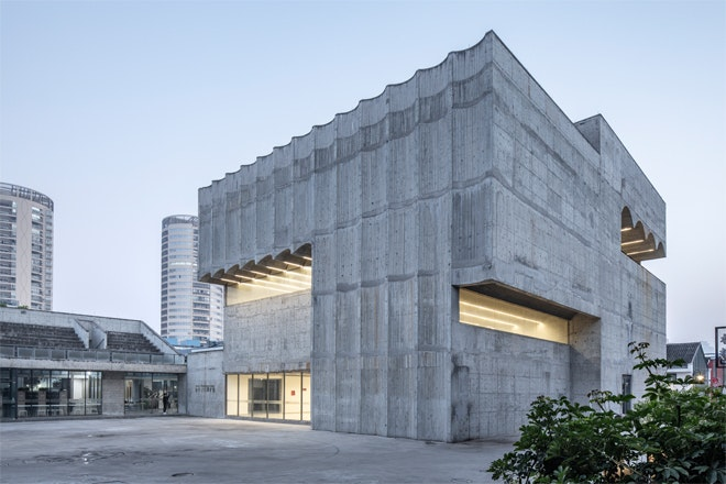 Museum Taizhou exterieur