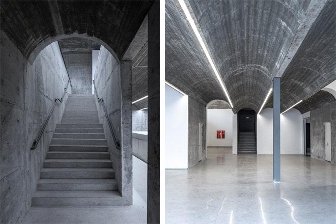 Museum Taizhou trap en zaal Foto Tian Fangfang