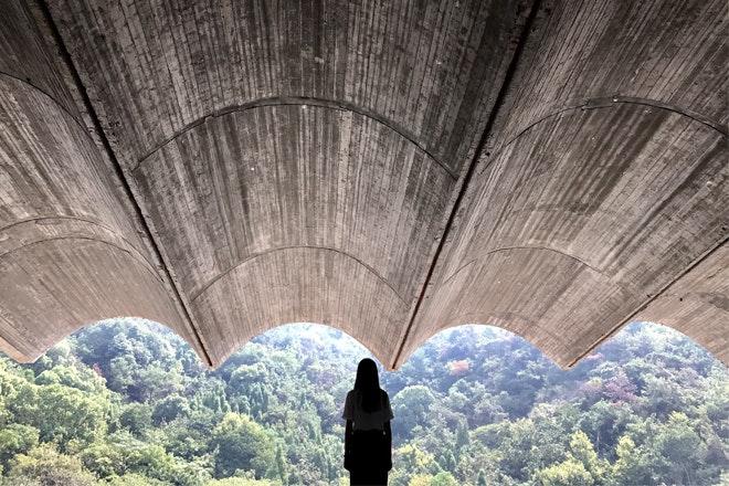 Museum Taizhou uitzicht Foto Tian Fangfang