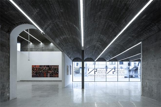 Museum Taizhou zaal expositie Foto Tian Fangfang