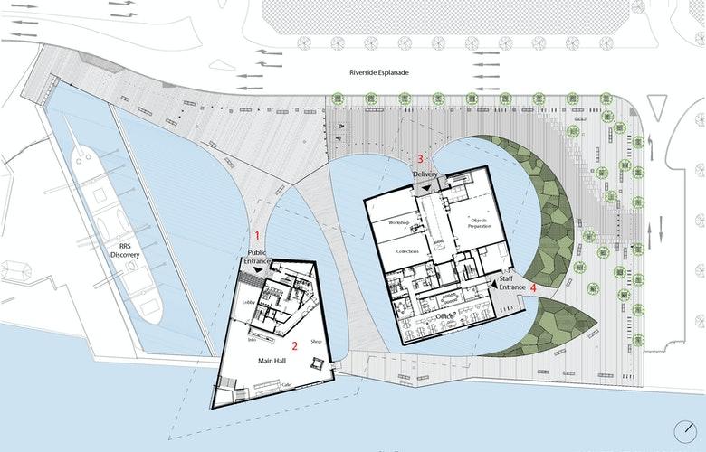 V a dundee drawing 01 site ground floor plan kkaa