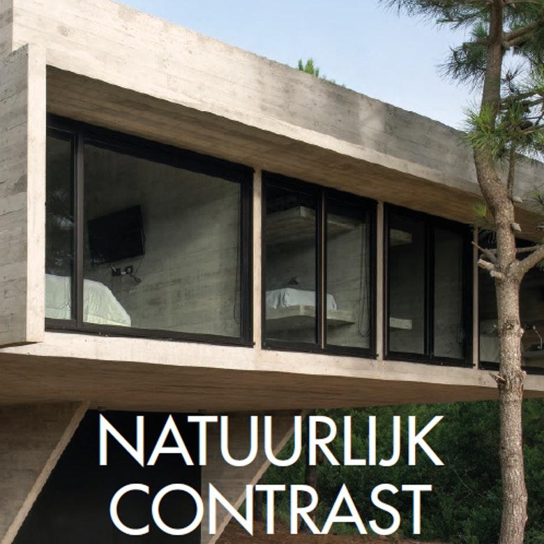 Omslag Natuurlijk contrast Casas en villas