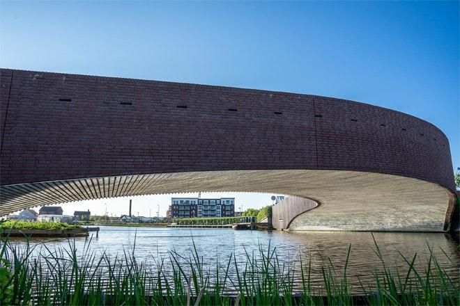Vlotwateringbrug foto Betonhuis