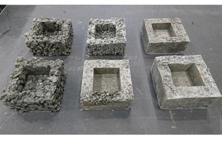 6 multifacade blokken