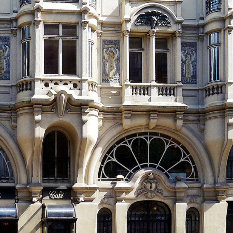 Detail P1020532 Paris VI Rue Danton n 1 rwk